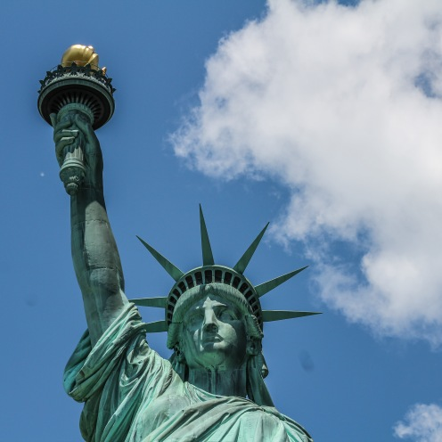 Afterwards, I decided to cross off a bucket list item and finally visit the Statue of Liberty.