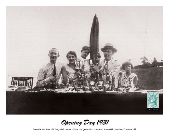 Old school photos of Evelyn Hill, the company that runs concession stands on Ellis Island and at the Statue of Liberty