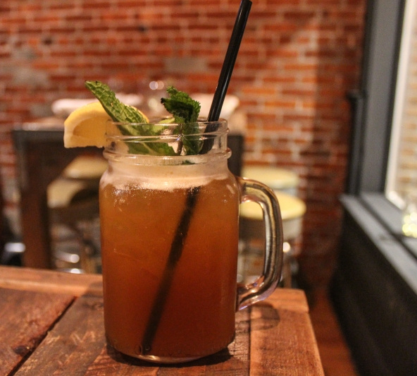 This bourbon sweet tea is easy to drink, but don't be fooled! This will catch you off guard!
